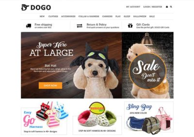 Dogopet Website Project
