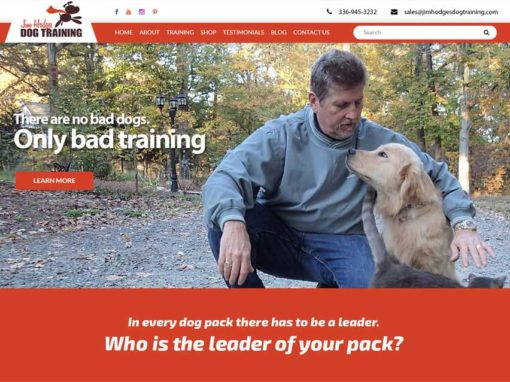 Jim Hodges Dog Training