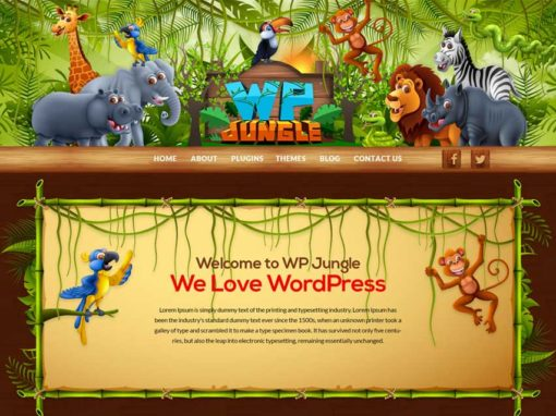 WP Jungle Website Project